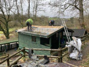 Cabin Refurbishment at the crown inn